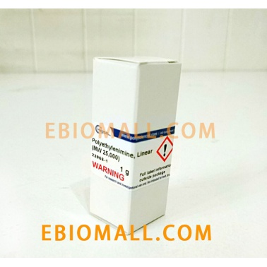 polysciences,Inc Polyethylenimine, Linear, MW 25000, Transfection Grade (PEI 25K)/23966-1现货